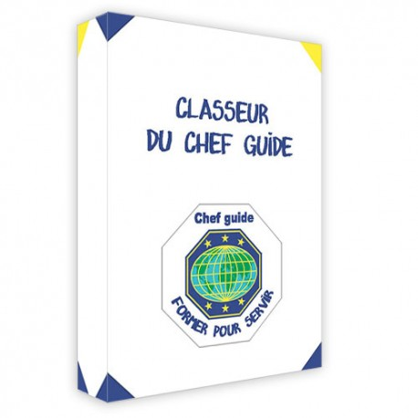 Classeur chef-guide